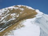 Via Normale Cima Sussino - Ultimo tratto di cresta