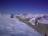 Via Normale Monte Chaberton - Sulla cime con le torri