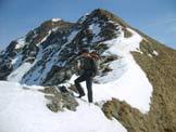Via Normale Anticima Est Alta Guardia - Lungo la cresta W