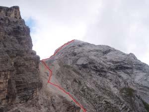Via Normale Cima Val D'Arcia