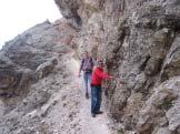 Via Normale Cima Val D�Arcia - Lungo il percorso