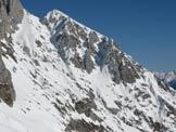 Via Normale Monte Visolo - Vista sulle cime della Presolana