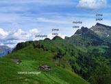 Via Normale Cima Caoz - Panoramica sulle cime (foto Francesco M.)