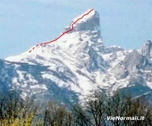 Via Normale Monte Pizzocco