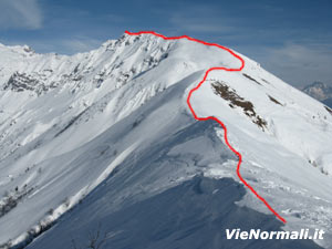 Via Normale Monte Sasna