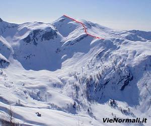 Via Normale Monte Brealone