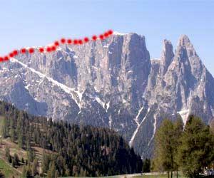 Via Normale Monte Castello
