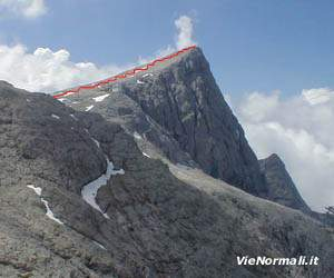 Via Normale La Rosetta