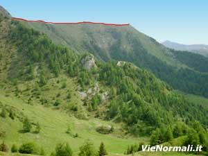 Via Normale Monte Bazena