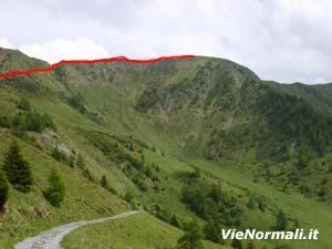 Via Normale Monte Paletti