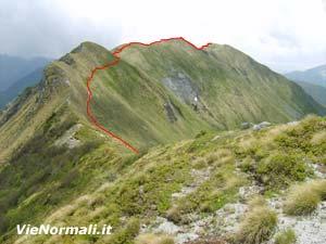 Via Normale Monte Asino di Bazenina