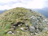 Via Normale Monte Mattoni - Sulla cima