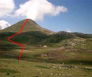 Via Normale Monte Cotento