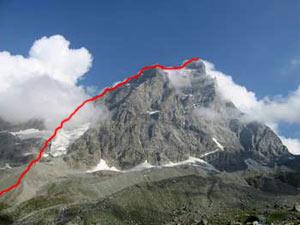 Via Normale Cervino - Via normale italiana