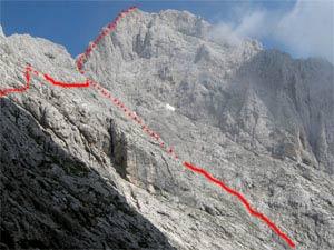 Via Normale Monte Agner