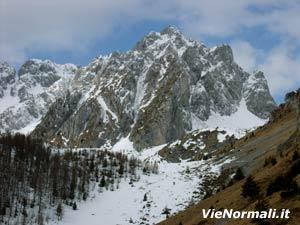 Via Normale Pizzo Camino Camuno da NE