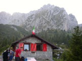 Via Normale Pizzo Camino Camuno da NE - Il Rifugio Laeng