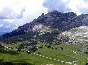 Via Normale Knollkopf - Col Rotondo dei Canopi