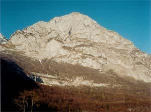 Via Normale Monte Lodina