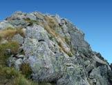 Via Normale Monte Blisie - Ultimi metri verso la cima