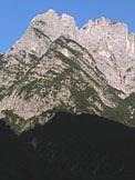 Via Normale Cima di Pino Sud - Le Cime di Pino dal Pian di Mes�z