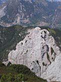 Via Normale Cima di Pino Sud - La Cima di Pino Nord, dalla vetta