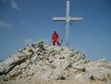 Via Normale Mittagskogel - Sulla cima