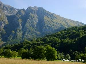 Via Normale Monte Vaccio