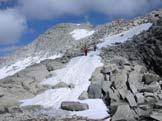 Via Normale Cima Presanella - Dal Bivacco verso la cima Presanella
