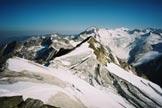 Via Normale Pizzo Rosso di Predoi - l´Untere Rotspitze e sullo sfondo il Picco dei Tre Signori