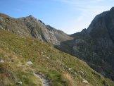 Via Normale Cima Aga - Verso il Passo Cigola