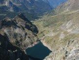 Via Normale Cima Aga - Valle M. Sasso e Lago del Diavolo dalla vetta