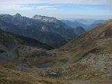 Via Normale Pizzo Zerna - Dalla vetta verso la Val Sambuzza