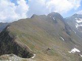 Via Normale Pizzo Zerna - Bivacco Pedrinelli e il sentiero che porta in vetta allo Zerna