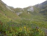 Via Normale Monte Listino - La piana del Gaver