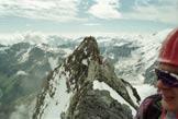 Via Normale Ortles - Coston di Dentro - Tratto di cresta con la Punta del Segnale sullo sfondo