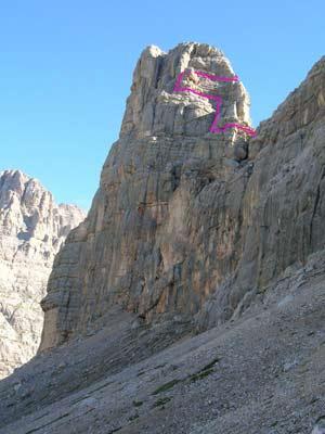 Via Normale Torre dei Sabbioni