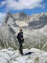 Via Normale Torre dei Sabbioni - Sulla cima, verso il Sorapiss