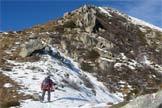 Via Normale Cima Orena - Dalla forcella tra del Palon e C. Orena, verso la cima