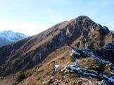 Via Normale Palon della Cavallara - Vista dalla forc. Cavallara