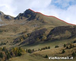 Via Normale Monte Campioncino