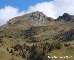 Via Normale Monte Campione