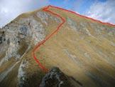 Via Normale Monte Campione - Vie di salita da S e da E