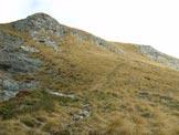 Via Normale Monte Campione - Traverso sotto la cima