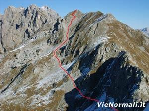Via Normale Monte Feltraio