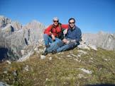 Via Normale Monte Feltraio - Sulla cima