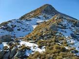 Via Normale Cima delle Regade - Ultimo tratto verso la cima