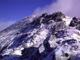 Via Normale Rocca Moross - L'ultimo tratto di salita verso la vetta