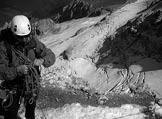 Via Normale Marmolada - Punta Penia (cresta W) - Prima del tratto roccioso in discesa sul ghiacciaio