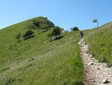 Via Normale Corna Trentapassi - Versola cima